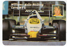 1985 portoghese POCKET Calendar F1 WILLIAMS HONDA TEAM driver keke rosberg auto # 6