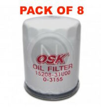 OSAKA OIL FILTER OZ547 INTERCHANGEABLE WITH RYCO Z547 (BOX OF 8)