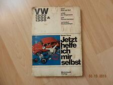 Volkswagen cox VW 1200 1200 A 1300 manuel de réparation 1966