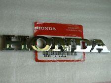 HONDA REAR EMBLEM TRUNK CHROME BADGE Nameplate Logo Word Letter Civic Accord Fit