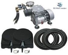 NEW 1/4 hp Pond Aerator System w/200' Hose 2 Diffusers Complete KIT 2yr Warranty