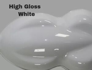 High Gloss White ( Kit)Gallon Single Stage Acrylic Enamel Auto Paint