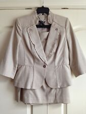 WHITE HOUSE BLACK MARKET SKIRT SUIT SIZE 12P/12