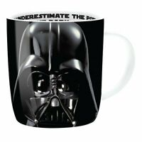 OFFICIAL STAR WARS DARTH VADER POWER OF THE FORCE BARREL MUG COFFEE CUP NEW