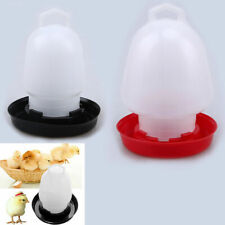 Useful Automatic Chicken Feeder Drinker Poultry Chick Quail Hen Food Water Tool