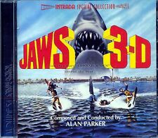 """Alan Parker """"JAWS 3-D"""" Intrada Special Collection #54 score 3000 Ltd CD SEALED"""