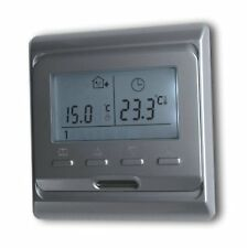 Digital Room Thermostat Programmable Silver 16A #888