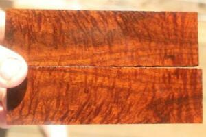 Ringed Gidgee Bookmatched Scales 877