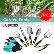 7PCS Garden Hand Tool Trowel Set Plant Weeding Tools Gardening Tools.UK