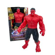Action figure Red Hulk Marvel Avengers Toy with sound effects