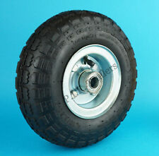 Replacement Heavy Duty Pneumatic Jockey Wheel Steel Rim 260mm dia. Caravan #2291