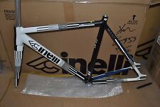 NUOVO Cinelli Mash Parallax frameset RRP £ 799.99 extra-small ROAD fisso Red Hook