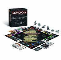 GAME OF THRONES MONOPOLY COLLECTORS EDITION DEUTSCH NEU TOP