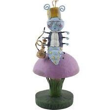 Lori Mitchell Caterpillar Alice in Wonderland Storybook Folk Art Figurine