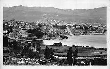 Real Photo Postcard Overview Lake Ewauna in Klamath Falls, Oregon~110724