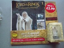 Eaglemoss Lord of the Rings Gandalf at Fangorn Forest Model & Magazine no 1