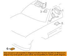 Hummer GM OEM 05-07 H2 Airbag Air Bag SRS-Front Impact Sensor 10370148