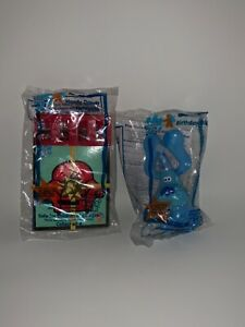 RARE Vintage Subway 1998 Blues Clues Kids Meals Toys NEW IN PACKAGE