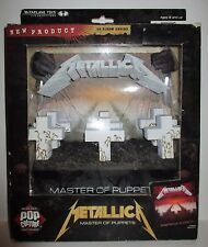 Mcfarlane Toys METALLICA  Master of Puppets 3D Album Cover
