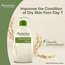 Aveeno Daily Moisturising Lotion 300ml Nourishes Normal to Dry Skin Pack of 3