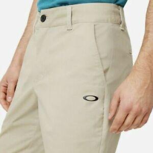 Oakley Icon Chino Golf Shorts Stretch Men's Size 36 Rye Khaki Tan  NWT MRSP 70$