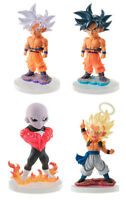 Bandai Dragon Ball Super Z UG 08 Gashapon Figure Goku Ultra Instinct set 4 pcs