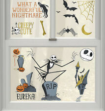 NIGHTMARE BEFORE CHRISTMAS window/glass CLINGS 17 Disney static clings JACK