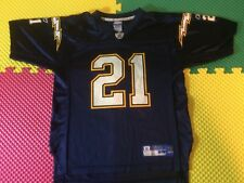 LaDainian Tomlinson San Diego Chargers #21 Reebok Blue Jersey Youth Size L 14-16