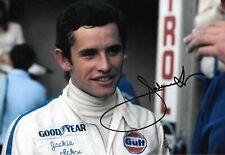 Jacky Ickx  SIGNED 12x8 , F1 Brabham Portrait  , Monza 1969  Grand Prix Season