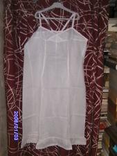 Vetement ancien femme vieux linge collection robe chemise nuit coton
