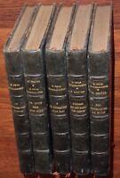 Lot de 5 roman reliés de GEORGES DE LA FOUCHARDIERE Le Bouif... RELIURE