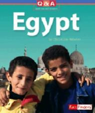 Egypt: A Question and Answer Book (Fact Finders: Questions and Answers-ExLibrary