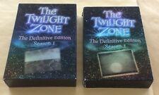 The Twilight Zone Season 1 & Season 2 DVD Sets USED