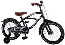 16 Zoll Fahrrad Qualitäts Kinderfahrrad Schwarz matt Jungen Black Cruiser 21602C