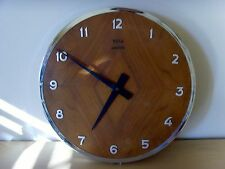 Usado - Reloj de Pared de Madera VOGA - Wall Clock VOGA - Used