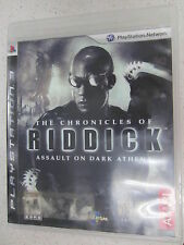 The Chronicles of Riddick Assault on Dark Athena Sony PS3