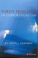 Ford's Principles of Corporations Law, 13th edition, R P Austin, I M Ramsay