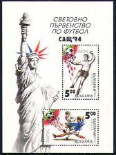 Bulgaria 1994 Sports/Football/WC/Games 2v m/s (n28918)