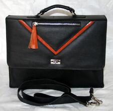 Bag Leather Men Shoulders Messenger Briefcase Satchel Laptop Handbag Business Bg
