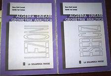 Zucchetti Cantalupi Algebra lineare e geometria analitica lezioni + esercizi '92