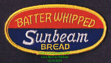 LMH PATCH Badge  SUNBEAM BREAD  Rolls Baked  BATTER WHIPPED Goods Quality Bakers