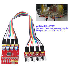 4 Channel IR Infrared Line Detector Tracking Sensor Module for Arduino Smart Car
