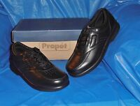 Propet  M3910,  Mens Black Lite Comfort Walking Shoe  size  8 1/2 M..FREE SHIP