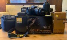 Nikon D D3100 14.2MP Digital SLR Camera - Black (Kit w/ AF-S DX ED VR G 18-55mm