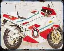 Bimota Yb8  90 A4 Metal Sign Motorbike Vintage Aged