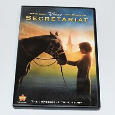 Secretariat 2010 Docudrama Diane Lane John Malkovich Widescreen DVD