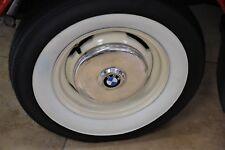 """4X10"""" Tire White Wall Classic portawall Tire insert Trim Fit 1957 Bmw isetta 300"""