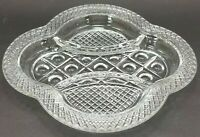 """Vintage Cape Cod By Imperial Glass Co Oval 3-Part Divided Relish Dish (9-3/8"""")"""