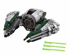 LEGO YODA'S JEDI STARFIGHTER NO MINIFIGURES/BOX Star Wars Spaceship 75168