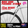 2x Custom Text 12mm Height Name Lettering Bike Bicycle Frame Decal Sticker